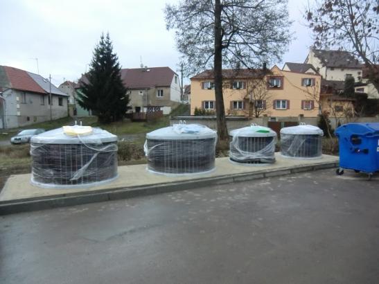podzemní kontejnery