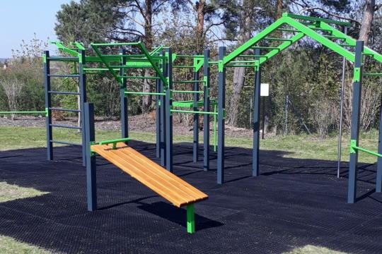 Nové workoutové hřiště